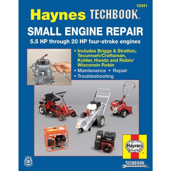 SMALL ENGINE REPAIR HAYNES TECHBOOK 5.5 HP THROUGH 20 HP, , scaau_hi-res