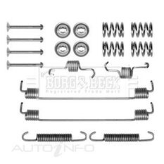 RENAULT CLIO II 98-05 FITTING KIT - SHOES, , scaau_hi-res
