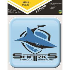 SHARKS ITAG APP ICON MEGA DECAL, , scaau_hi-res