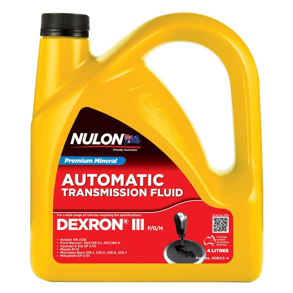 Nulon Automatic Transmission Fluid - 4 Litres, 3 Pack