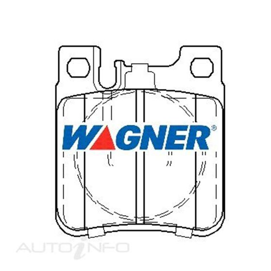 Wagner Brake pad [ Mercedes 1991-2003 R ], , scaau_hi-res