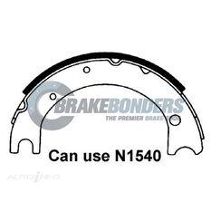 Brake Shoes - Toyota [2Pcs] Parking Brake 160mm, , scaau_hi-res
