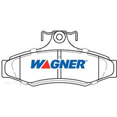 Wagner Brake pad [ Daewoo & Mitsubishi 1991-2004 R ], , scaau_hi-res