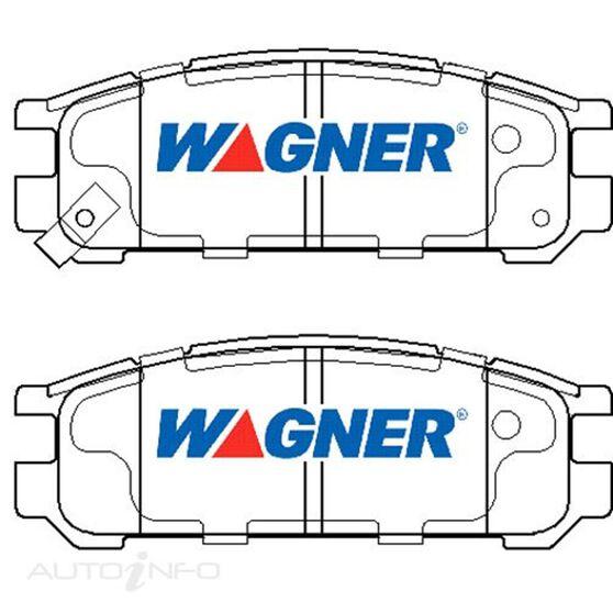 Wagner Brake pad [ Isuzu & Subaru 1990-98 R ], , scaau_hi-res