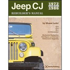 JEEP CJ REBUILDERS MANUAL 1972-1986   9780837601519, , scaau_hi-res
