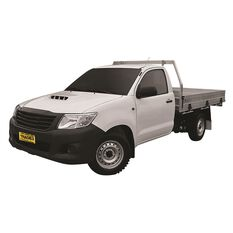 TRADIES CANVAS SEAT COVER TO SUIT: TOYOTA HILUX SR WORKMATE SINGLE CAB 11/15 - CURRENT