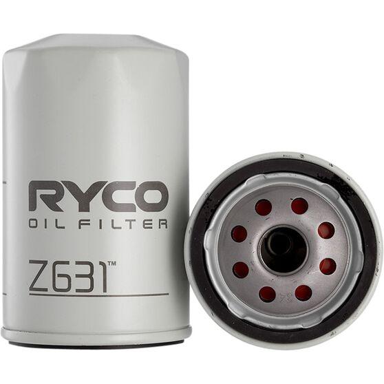 Ryco Oil Filter - Z631, , scaau_hi-res
