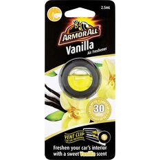 Armor All Vent Air Freshener Vanilla 2.5mL, , scaau_hi-res