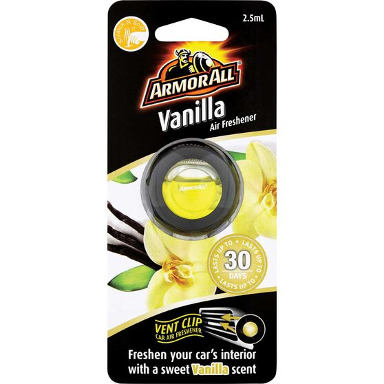 Armor All Vent Air Freshener - Vanilla, 2.5mL, , scaau_hi-res