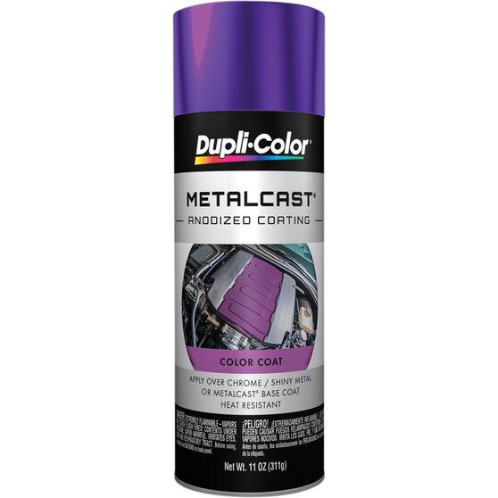 Dupli-Color Metalcast Aerosol Paint Enamel Purple Anodised 311g, , scaau_hi-res