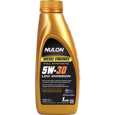 Nulon Full Synthetic Low Emission Diesel Engine Oil 5W-30 1 Litre, , scaau_hi-res
