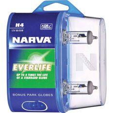 Narva Everlife Long Life Headlight Globe H4 12V 60/55W, , scaau_hi-res