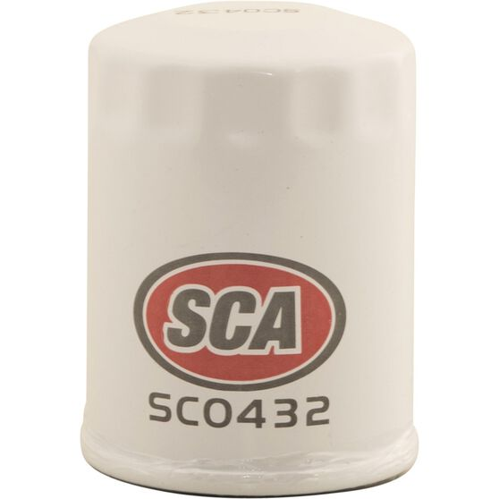 SCA Oil Filter - SCO432 (Interchangeable with Z432), , scaau_hi-res