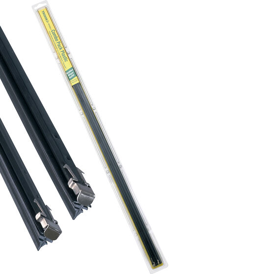 Tridon Wiper Refills - Plastic Combo Back Suits 6.5mm and 7.5mm 2 Pack, , scaau_hi-res