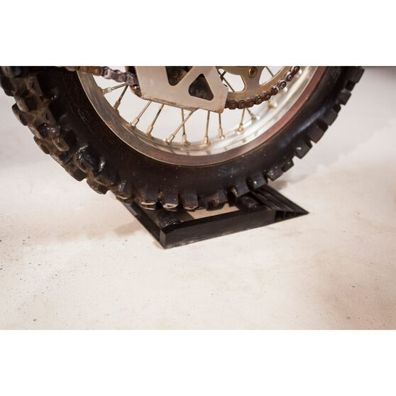 SCA Aluminium Motorcycle Stand - Roller, , scaau_hi-res