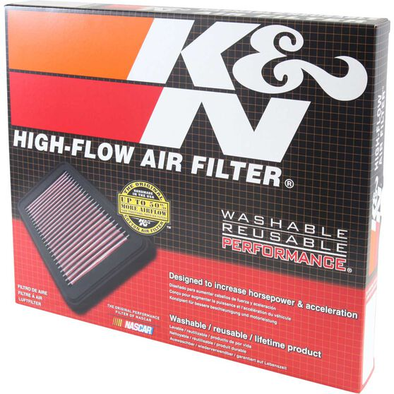 K&N Air Filter - 33-2387 (Interchangeable with A1634), , scaau_hi-res