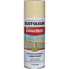 Rust-Oleum Aerosol Paint - Colourmate, Classic Cream 312g, , scaau_hi-res