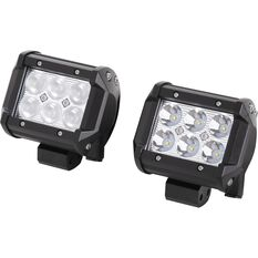 SCA Driving Light Kit - LED, 18W, 2 Pack, , scaau_hi-res