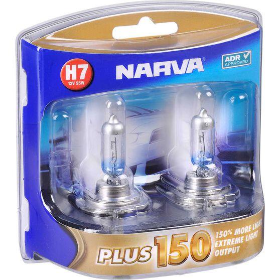 Narva Headlight Globe, Plus 150 - H7, 12V, 55W, , scaau_hi-res