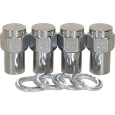 Calibre Wheel Nuts, Shank, Chrome - MN12150, 12mm x 1.5mm, , scaau_hi-res