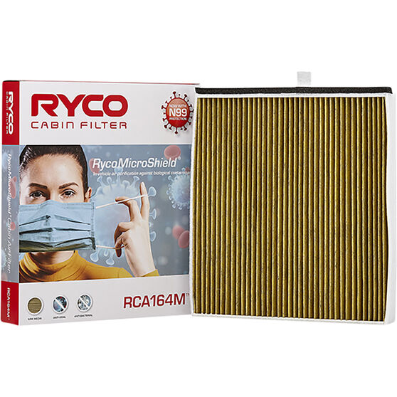 Ryco Cabin Air Filter N99 MicroShield RCA164M, , scaau_hi-res