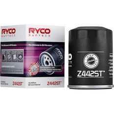 Ryco Syntec Oil Filter Z442ST (Interchangeable with Z442), , scaau_hi-res