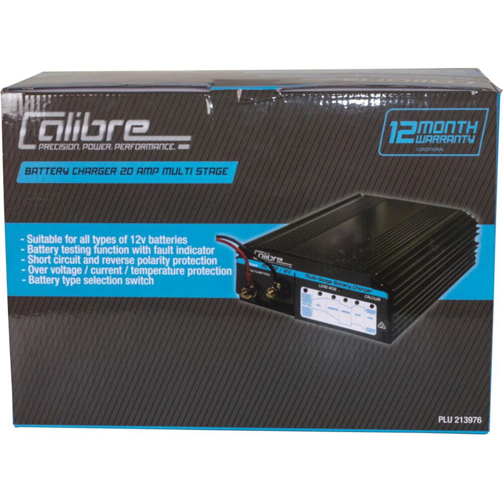 Calibre Battery Charger Multi Stage 12v 20 Amp Supercheap Auto Reverse Polarity Protection Scaau Hi
