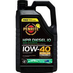Penrite HPR Diesel 10 Engine Oil 10W-40 5 Litre, , scaau_hi-res