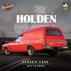 Classic Holden Square 2019 Calendar, , scaau_hi-res