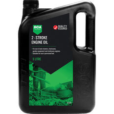 SCA Mineral Small Engine Oil 2 Stroke 5 Litre, , scaau_hi-res