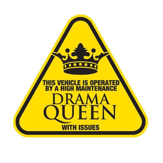 Hot Stuff Sticker - Drama Queen, , scaau_hi-res