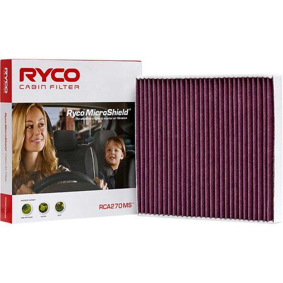 Ryco Cabin Air Filter Microshield- RCA270MS, , scaau_hi-res