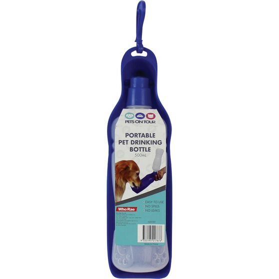 Pets on Tour Pet Drink Bottle, , scaau_hi-res