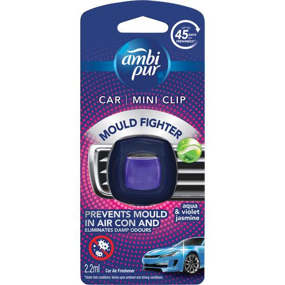 Ambi Pur Mini Mould Fighter Air Freshener Aqua Violet & Jasmine 2.2mL, , scaau_hi-res