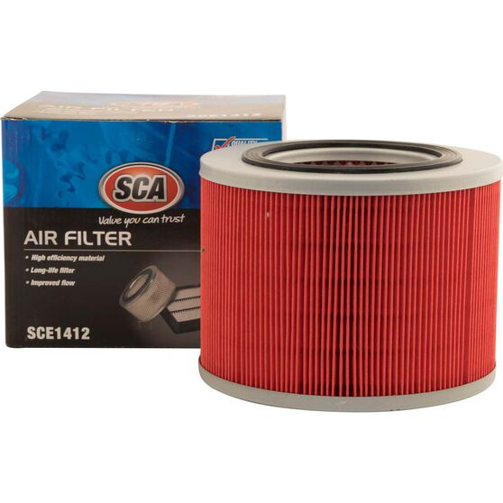 SCA Air Filter SCE1412 (Interchangeable with A1412), , scaau_hi-res