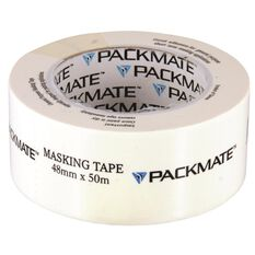 Packmate Masking Tape - 48mm x 50m, , scaau_hi-res