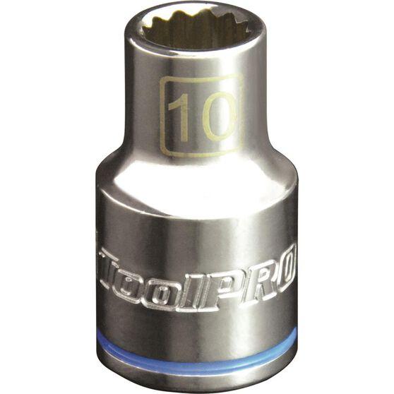 ToolPRO Single Socket - 1 / 2 inch Drive, 10mm, , scaau_hi-res