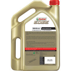 Edge Engine Oil - 0W-40, 5 Litre, , scaau_hi-res