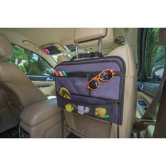 Cabin Crew Organiser Backseat Tray Grey, , scaau_hi-res