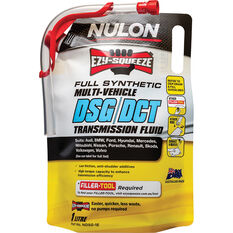 Nulon EZY-SQUEEZE Multi-Vehicle DSG/DCT Transmission Fluid 1 Litre, , scaau_hi-res
