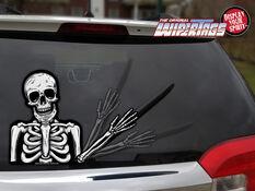 WiperTag Rear Window Blade Cover - Skeleton, , scaau_hi-res