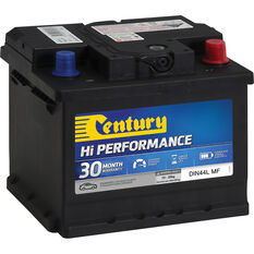 Century Hi Performance Car Battery DIN44L MF, , scaau_hi-res