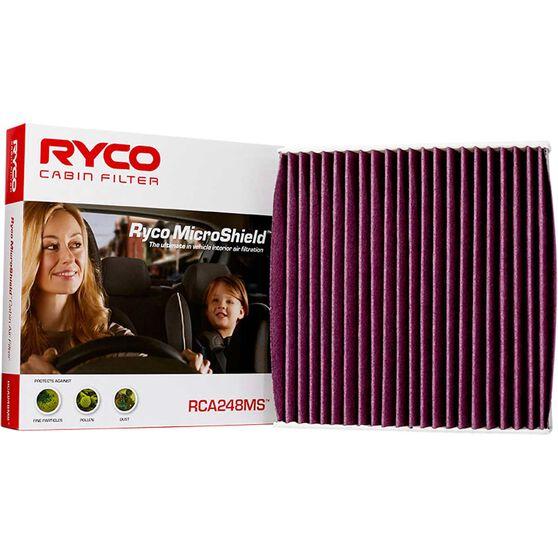 Ryco Cabin Air Filter Microshield - RCA248MS, , scaau_hi-res