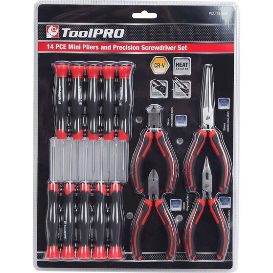 ToolPRO Precision Tool Set - 14 Pieces, , scaau_hi-res