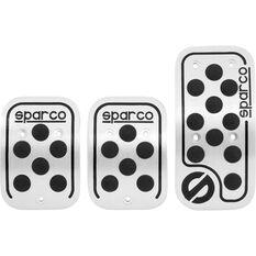 Pedal Pads - Urban, Aluminium/Black Rubber, Manual, , scaau_hi-res