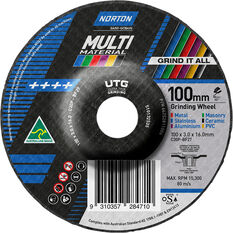 Norton Multi-material UTG Wheel 100mm, , scaau_hi-res
