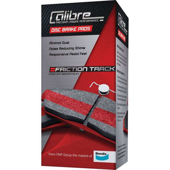 Calibre Disc Brake Pads DB1252CAL, , scaau_hi-res