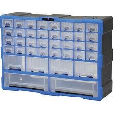 38 Drawer Plastic Organiser SCA, , scaau_hi-res