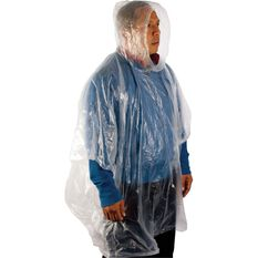 Emergency Poncho - Clear, , scaau_hi-res