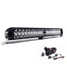 "Ridge Ryder Laser LED Driving Light Bar 24""  130W with harness, , scaau_hi-res"
